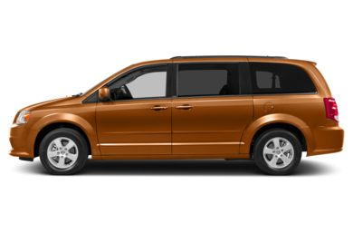 90 Degree Profile 2014 Dodge Grand Caravan
