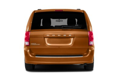 Rear Profile  2011 Dodge Grand Caravan