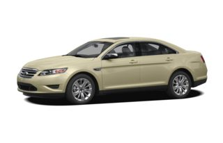 3/4 Front Glamour 2011 Ford Taurus