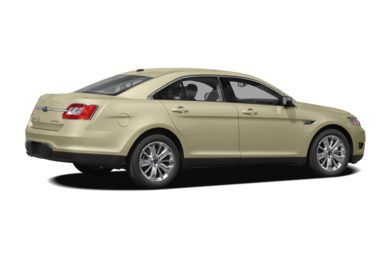 3/4 Rear Glamour  2011 Ford Taurus