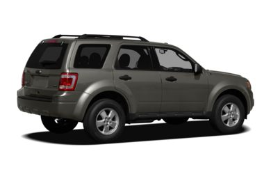 3/4 Rear Glamour  2011 Ford Escape