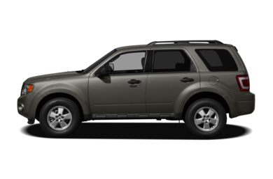 90 Degree Profile 2011 Ford Escape