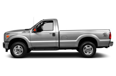 90 Degree Profile 2014 Ford F-250