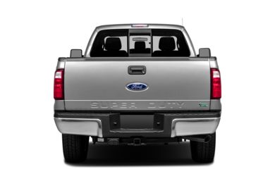 Rear Profile  2014 Ford F-250