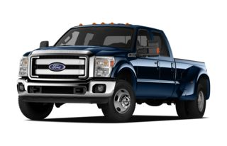 3/4 Front Glamour 2011 Ford F-450