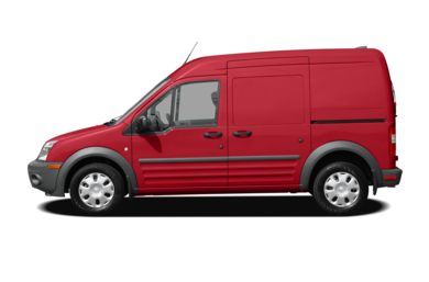 90 Degree Profile 2011 Ford Transit Connect