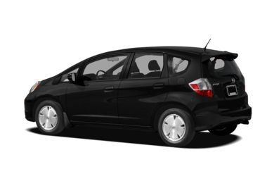 Surround 3/4 Rear - Drivers Side  2011 Honda Fit