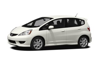 3/4 Front Glamour 2011 Honda Fit