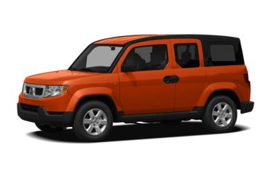3/4 Front Glamour 2011 Honda Element