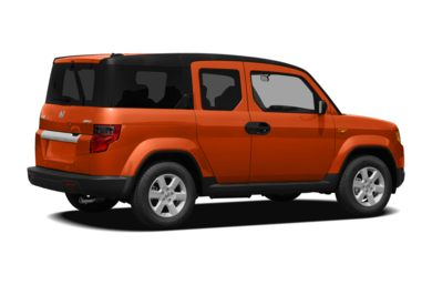3/4 Rear Glamour  2011 Honda Element