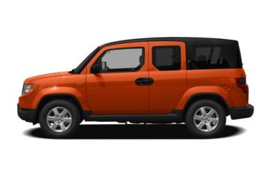 90 Degree Profile 2011 Honda Element