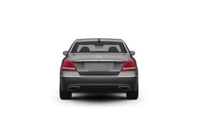 Surround Rear Profile 2011 Hyundai Equus