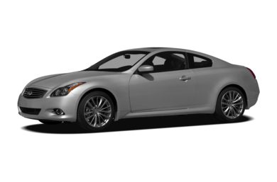 3/4 Front Glamour 2011 Infiniti G37x Coupe