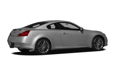 3/4 Rear Glamour  2011 INFINITI G37 Coupe