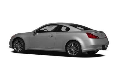 Surround 3/4 Rear - Drivers Side  2011 INFINITI G37 Coupe