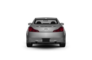 Surround Rear Profile 2011 INFINITI G37 Coupe