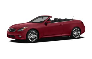 3/4 Front Glamour 2011 Infiniti G37 Convertible