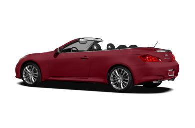 Surround 3/4 Rear - Drivers Side  2011 INFINITI G37 Convertible