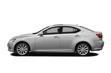 90 Degree Profile 2011 Lexus IS 350