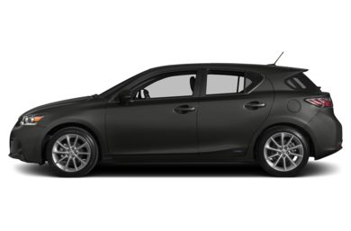90 Degree Profile 2011 Lexus CT 200h