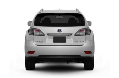 Rear Profile  2011 Lexus RX 450h