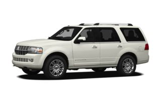 3/4 Front Glamour 2011 Lincoln Navigator