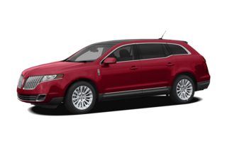 3/4 Front Glamour 2011 Lincoln MKT