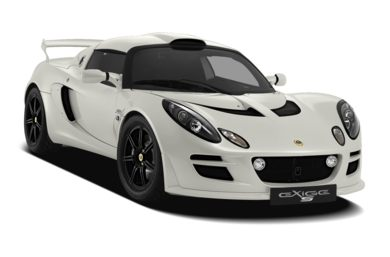 3/4 Front Glamour 2011 Lotus Exige