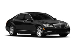 3/4 Front Glamour 2011 Mercedes-Benz S600