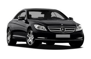 3/4 Front Glamour 2011 Mercedes-Benz CL600