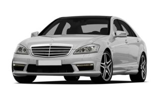 3/4 Front Glamour 2011 Mercedes-Benz S65 AMG