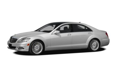 3/4 Front Glamour 2011 Mercedes-Benz S550