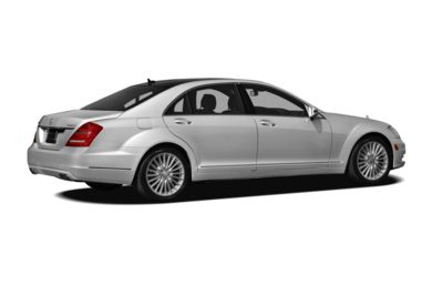 3/4 Rear Glamour  2011 Mercedes-Benz S550