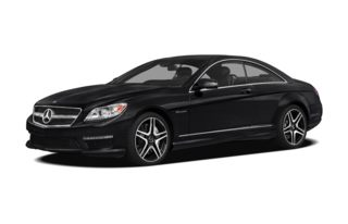 3/4 Front Glamour 2011 Mercedes-Benz CL63 AMG
