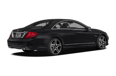 3/4 Rear Glamour  2011 Mercedes-Benz CL63 AMG