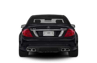 Rear Profile  2011 Mercedes-Benz CL63 AMG