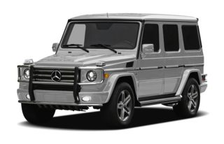 3/4 Front Glamour 2011 Mercedes-Benz G55 AMG