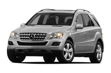 3/4 Front Glamour 2011 Mercedes-Benz ML350