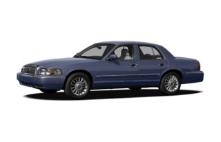 3/4 Front Glamour 2011 Mercury Grand Marquis
