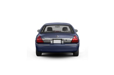 Surround Rear Profile 2011 Mercury Grand Marquis