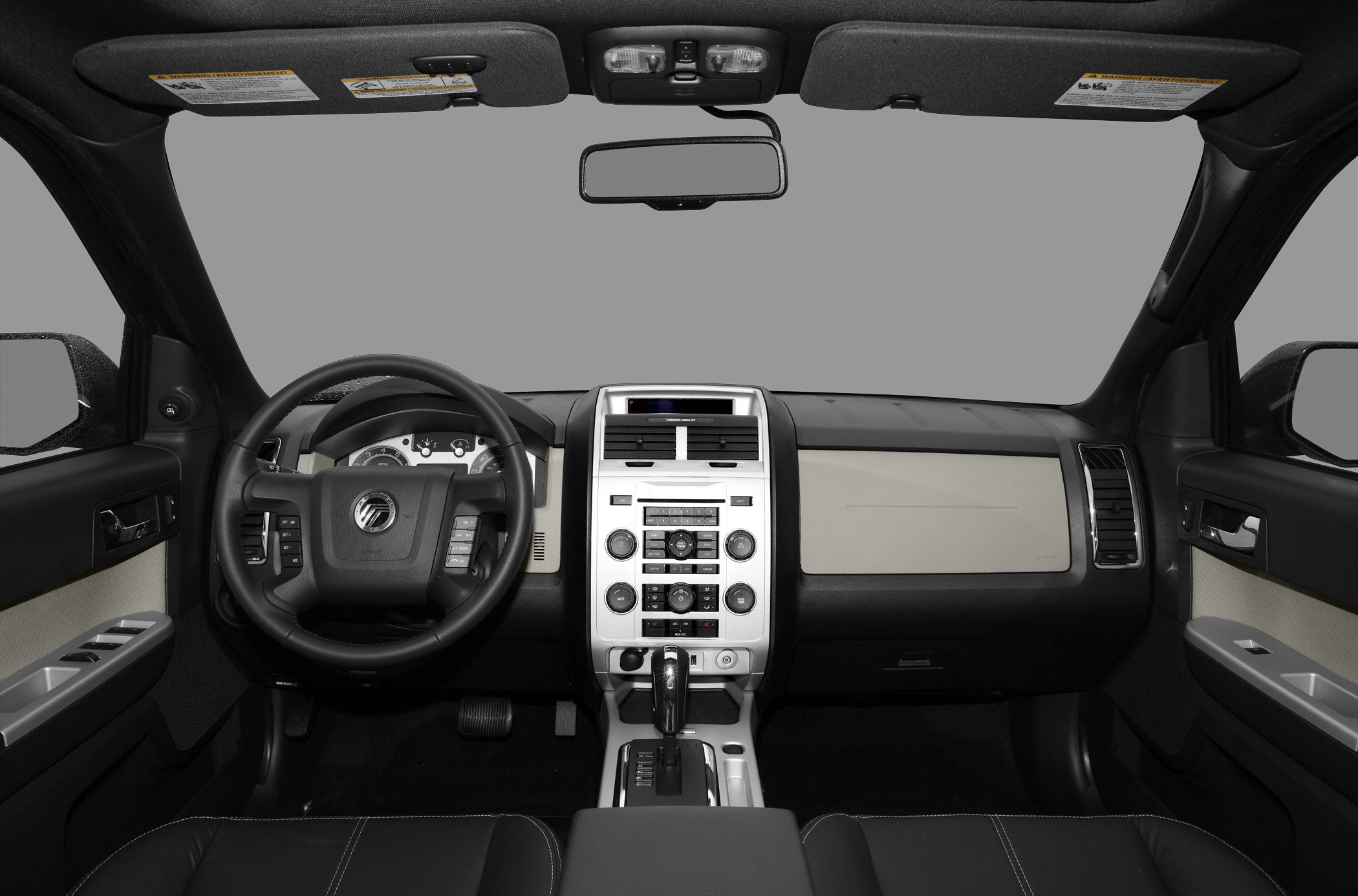 Front seat (full) 2011 Mercury Mariner