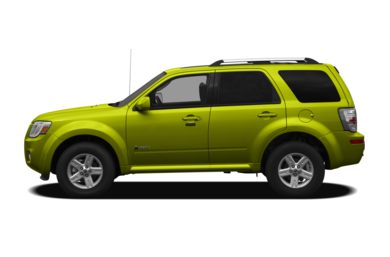 90 Degree Profile 2011 Mercury Mariner Hybrid