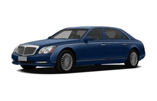 3/4 Front Glamour 2011 Maybach 57
