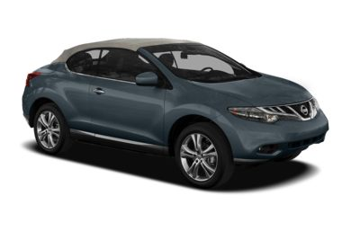 3/4 Front Glamour 2011 Nissan Murano CrossCabriolet
