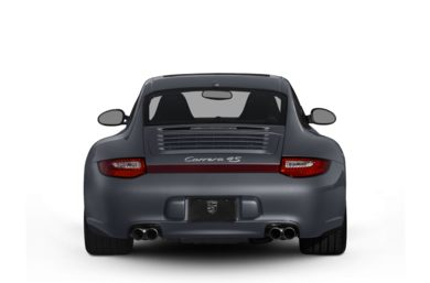 Rear Profile  2011 Porsche 911