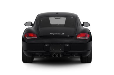 Rear Profile  2011 Porsche Cayman