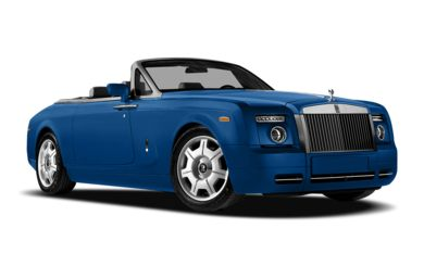 3/4 Front Glamour 2011 Rolls-Royce Phantom Drophead Coupe