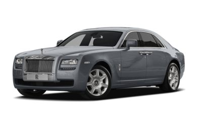 3/4 Front Glamour 2011 Rolls-Royce Ghost