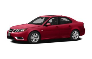 3/4 Front Glamour 2011 Saab 9-3