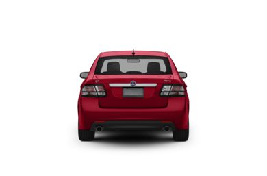 Surround Rear Profile 2011 Saab 9-3